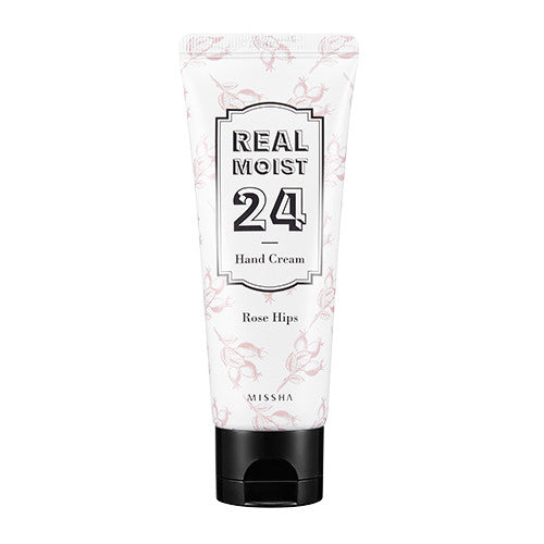 [MISSHA] Real Moist 24 Hand Cream [Rose Hip Oil]
