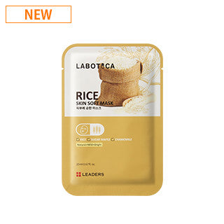 [Leaders] LABOTICA Skin Soft Mask [RICE]