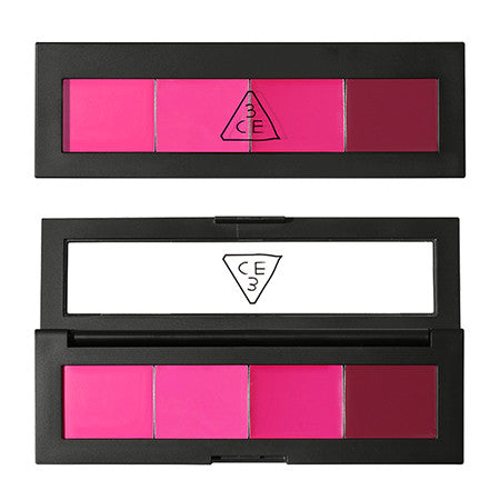 [3CE] 2015'S Lip Color Palette #Actress Pink