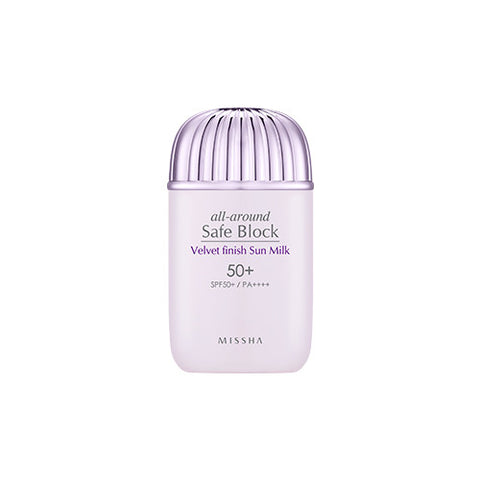 [MISSHA] All Around Safe Block Velvet Finish Sun Milk SPF50+/PA++++ 40ml