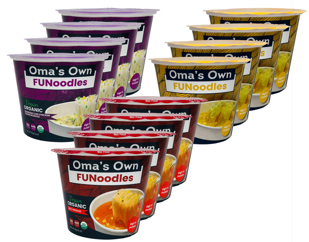 FUNoodles Variety (12 Pack)