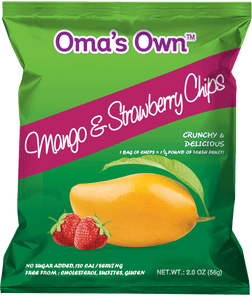 Mango & Strawberry Chips (12 Pack)