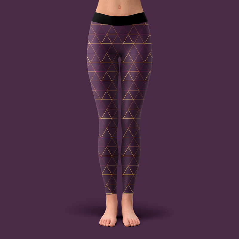 Bad/sportlycra Plaza Purple