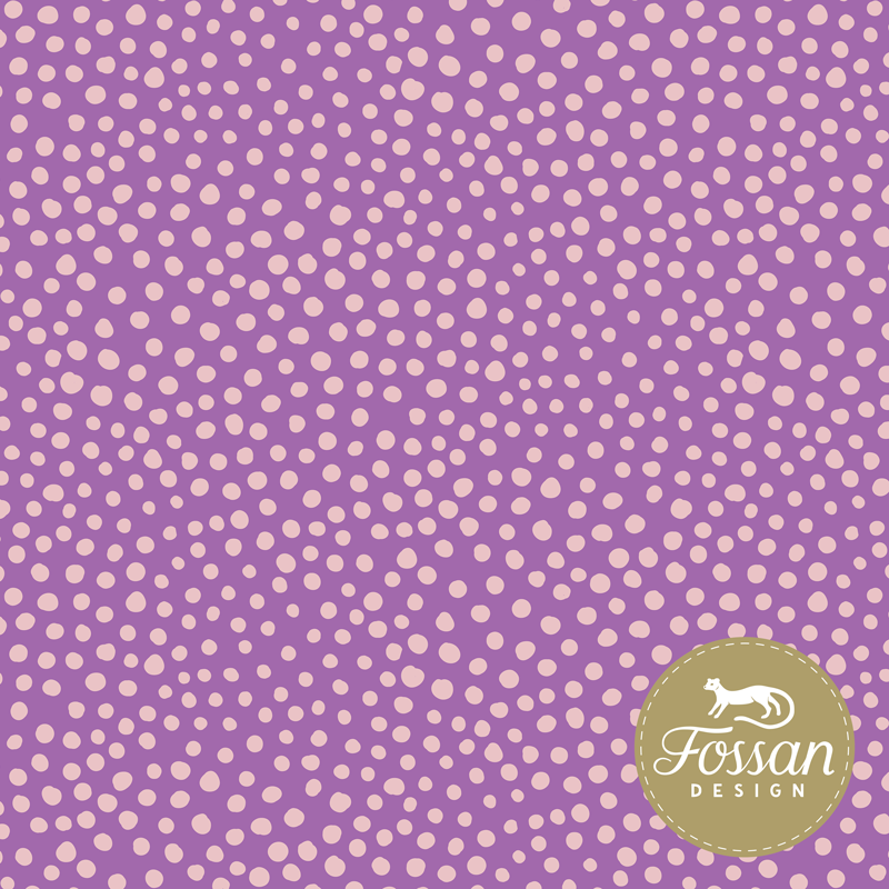 Jersey Stone Dots Purple Pink