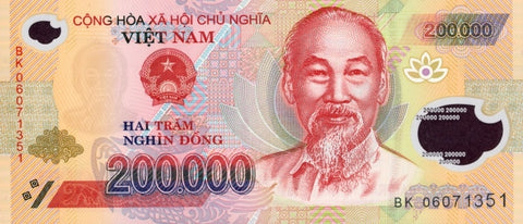 200,000₫ - Two Hundred Thousand Vietnam Dong