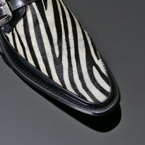 Harrison 'monkstrap' Zebra