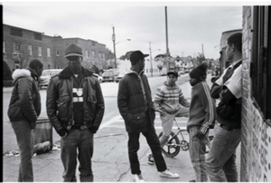 Teddy No Neck and friends Hollis Queens 1984