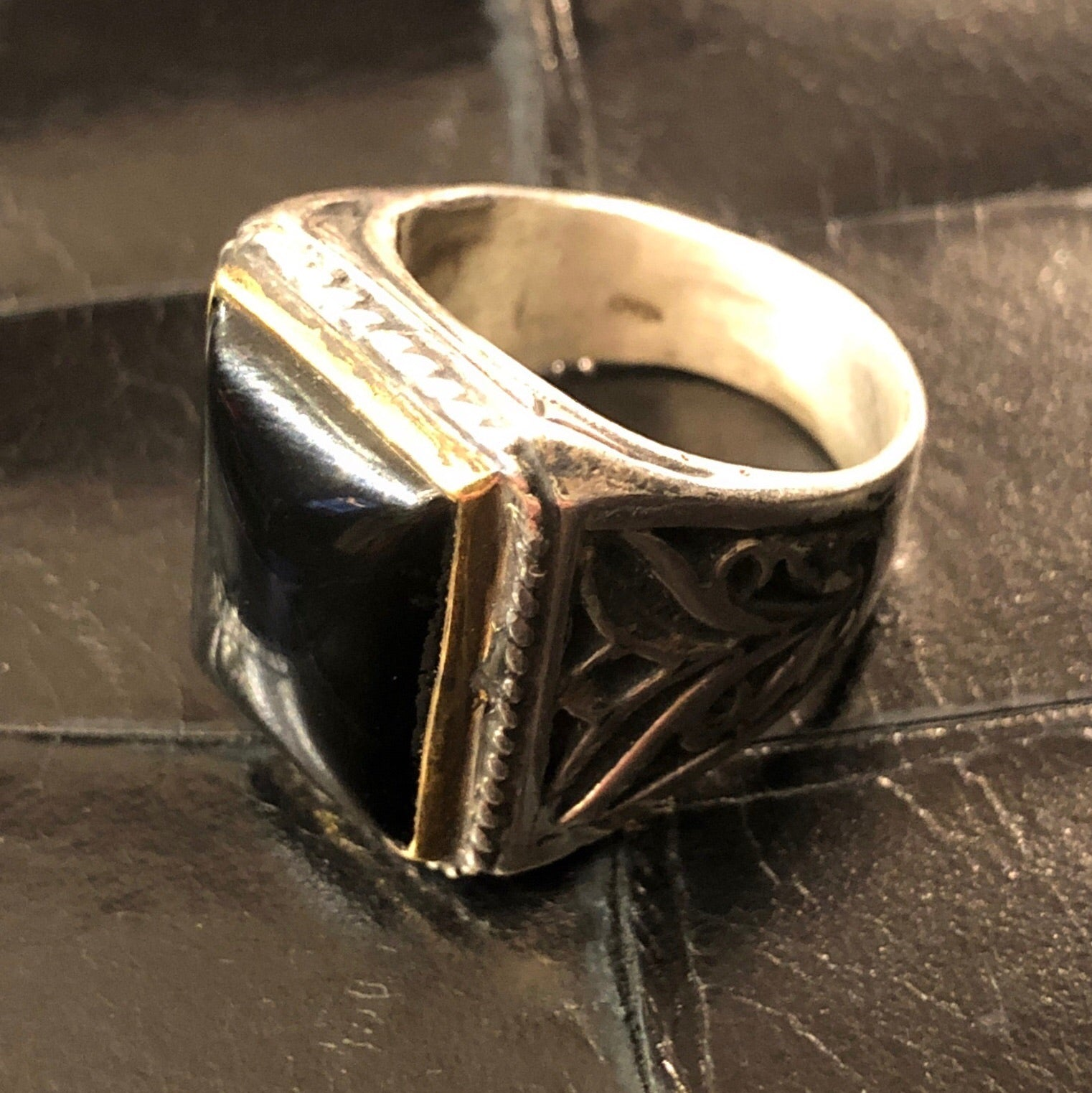 Tzigano Ring Onyx