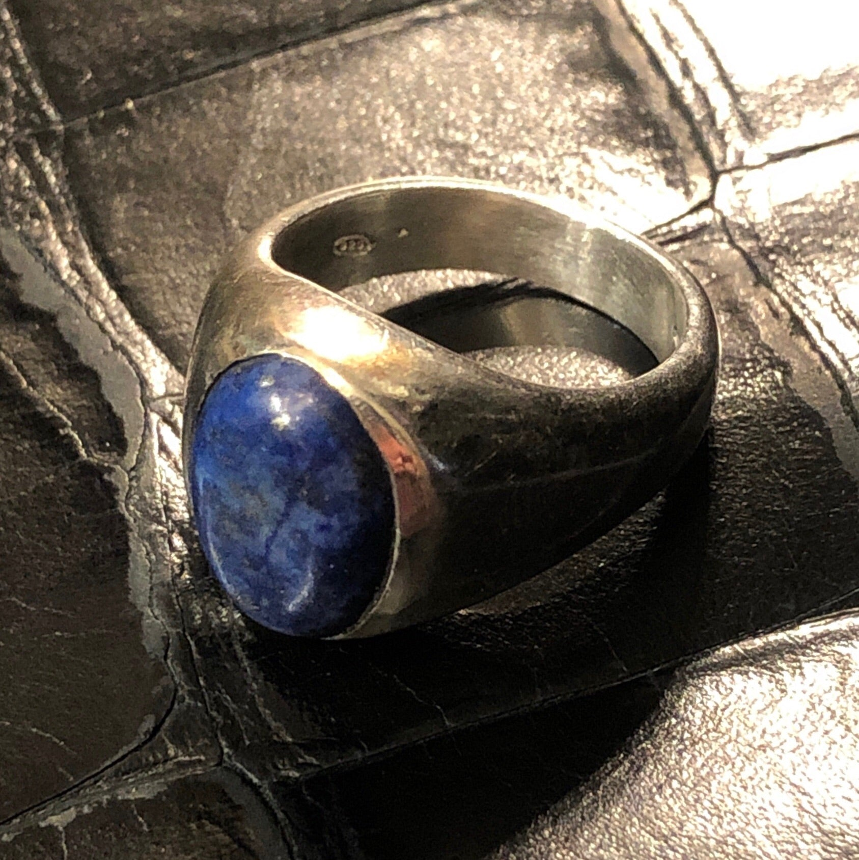 Indian Ring Lapis