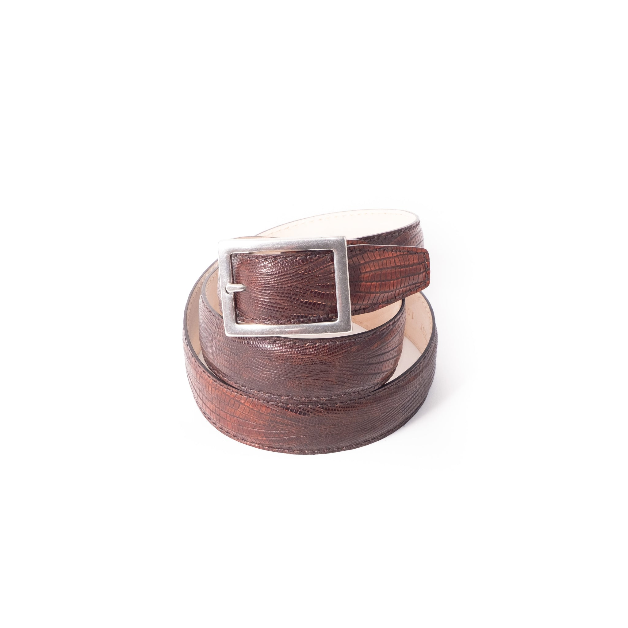 Claudio Belt - Skorpion Lizard Brown