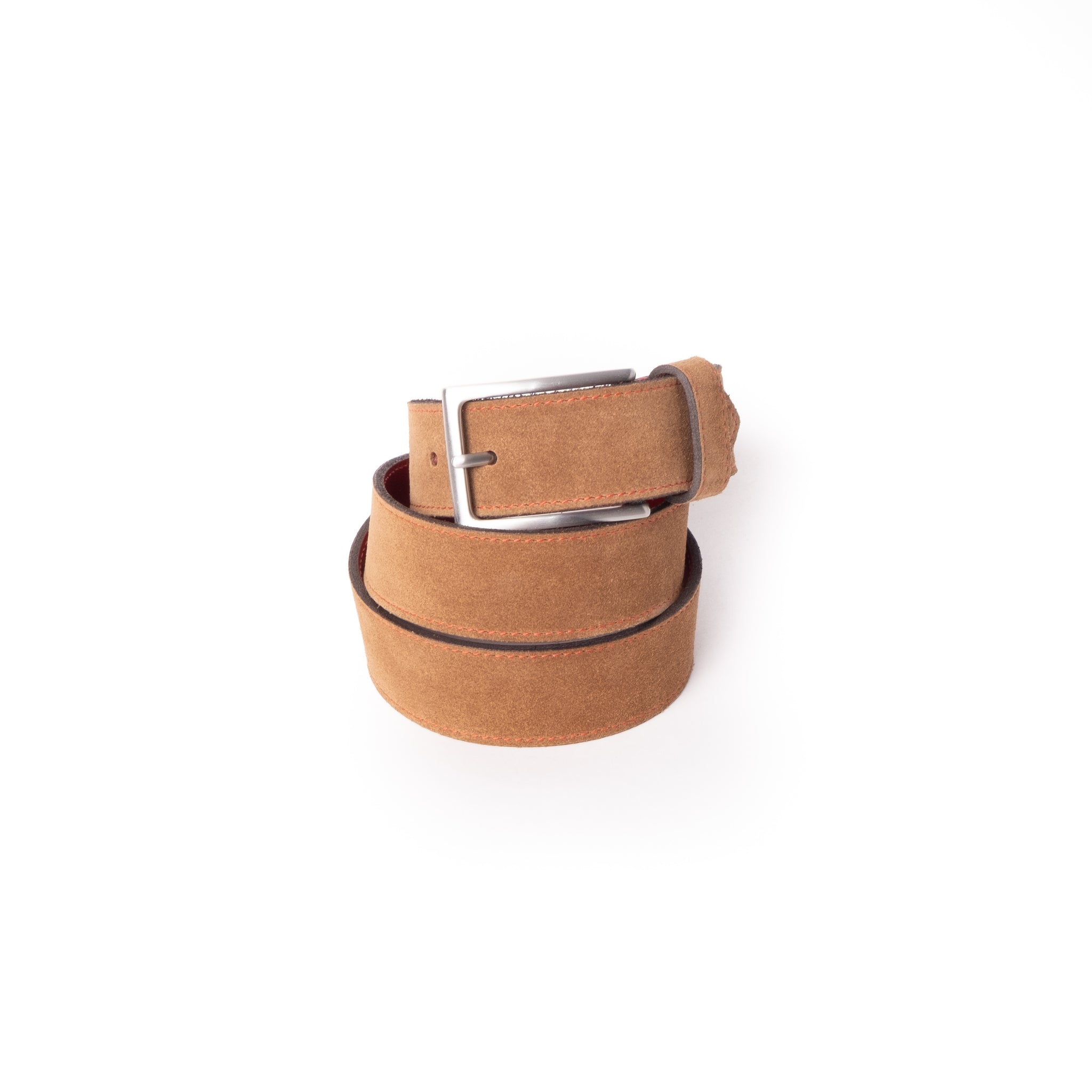 'Dirk' Jeans Belt - Tan Suede