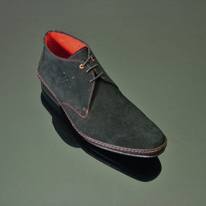 Jimmy Modernist 18245 - Black Suede
