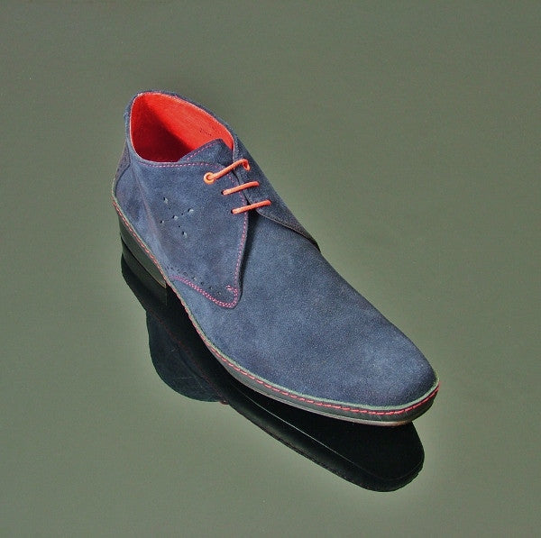 Jimmy Modernist 18245 - Navy Suede
