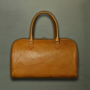 Overnighter Bag - Italian Tan Calf