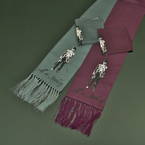 Spirit of the Charge - All or Nothing scarf and pocket square