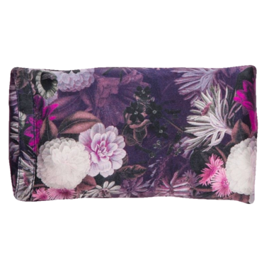 Halfmoon - Silk Eye Pillow - Lavender, Violet Aura Night Bloom