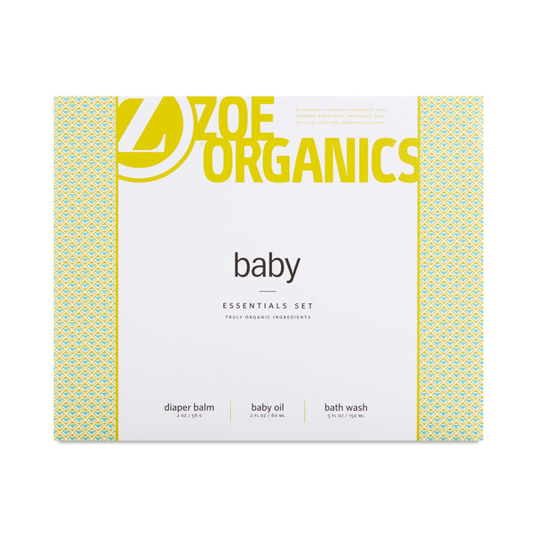 Zoe Organics - Baby Essentials Set