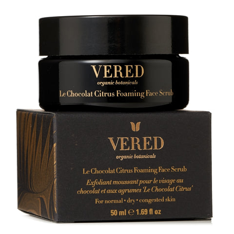 Vered Organic Botanicals - Chocolate Citrus Foaming Face Scrub