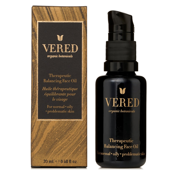 Vered Organic Botanicals Therapeutic Balancing Face Oil