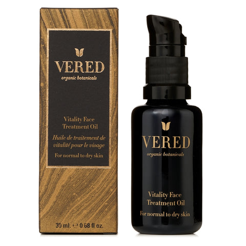 Vered Organic Botanicals - Vitality Face Treatment Oil