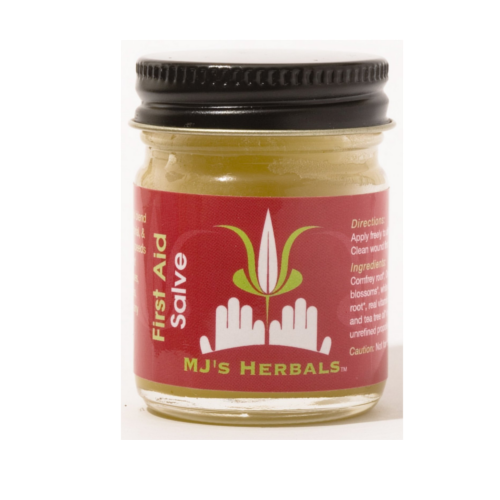 M.J.'s Herbals First Aid Salve - Clementine Fields