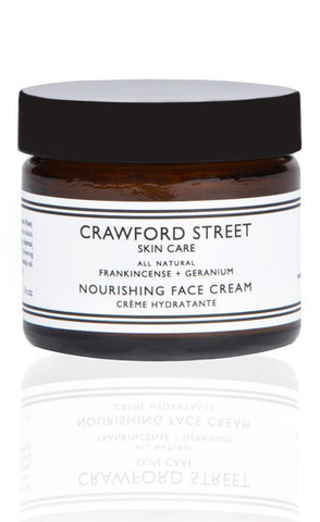 Crawford Street - Frankincense and Geranium Face Moisturizer