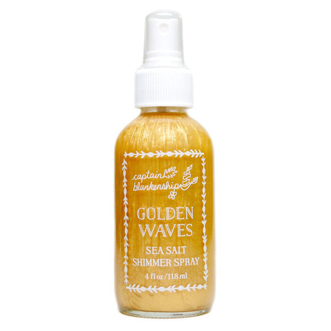 Captain Blankenship - Golden Waves Sea Salt Shimmer Spray