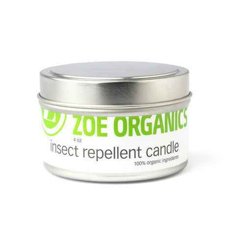 Zoe Organics - Insect Repellent Candle - Clementine Fields