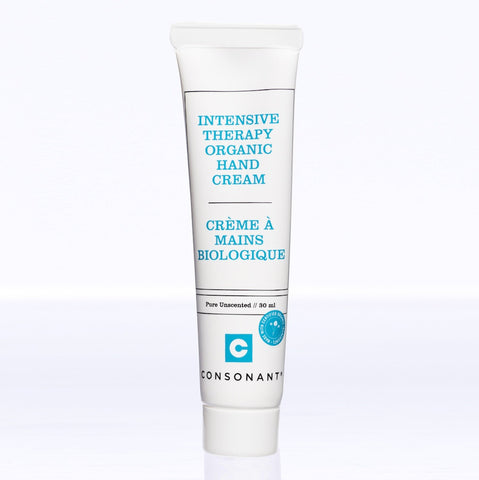 Consonant Skincare - Intensive Therapy Organic Hand Cream Creamy Finish