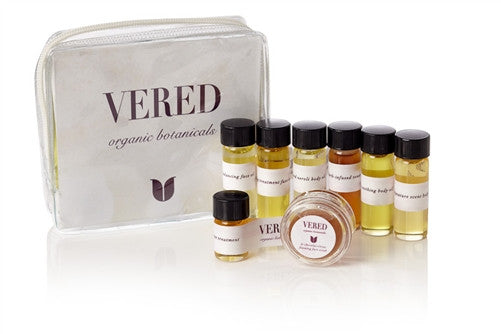 Vered Organic Botanicals Introductory Kit - Clementine Fields