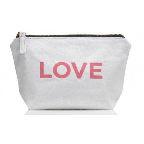 One Love Organics - Canvas Cosmetics Bag - Clementine Fields