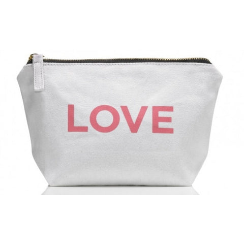 One Love Organics - Canvas Cosmetics Bag