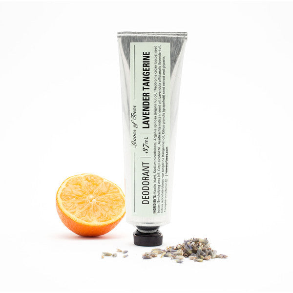 Leaves Of Trees - Lavender Tangerine Deodorant - Clementine Fields