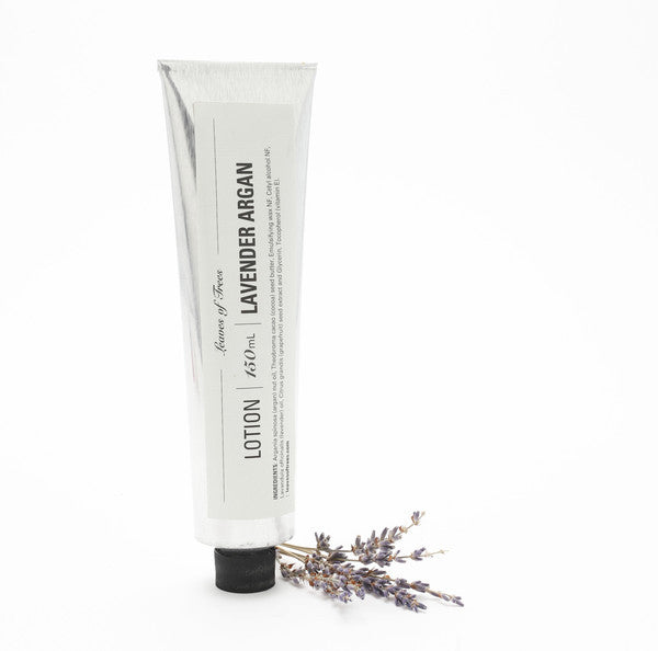 Leaves Of Trees - Lavender Argan Lotion - Clementine Fields
