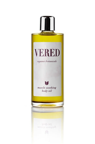 Vered Organic Botanicals Muscle Soothing Massage Oil - Clementine Fields