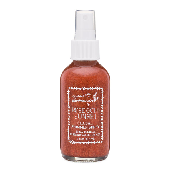 Captain Blankenship  - Rose Gold Sunset Sea Salt Shimmer Spray