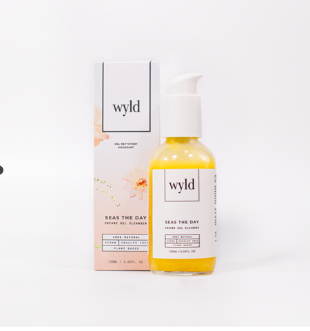 Wyld Skincare - Seas The Day Creamy Gel Cleanser (NEW)