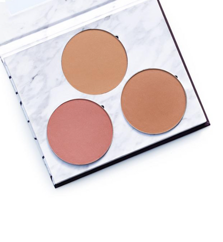 Fitglow Beauty - Sunny Days Cheek Trio Palette