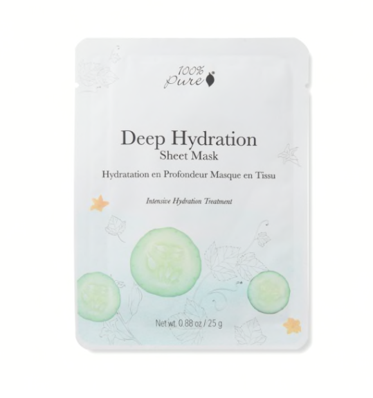 100% Pure - Deep Hydration Sheet Mask