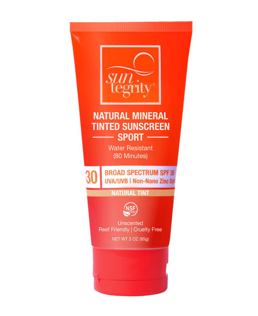 Suntegrity - Sport Tinted Natural Mineral Cream