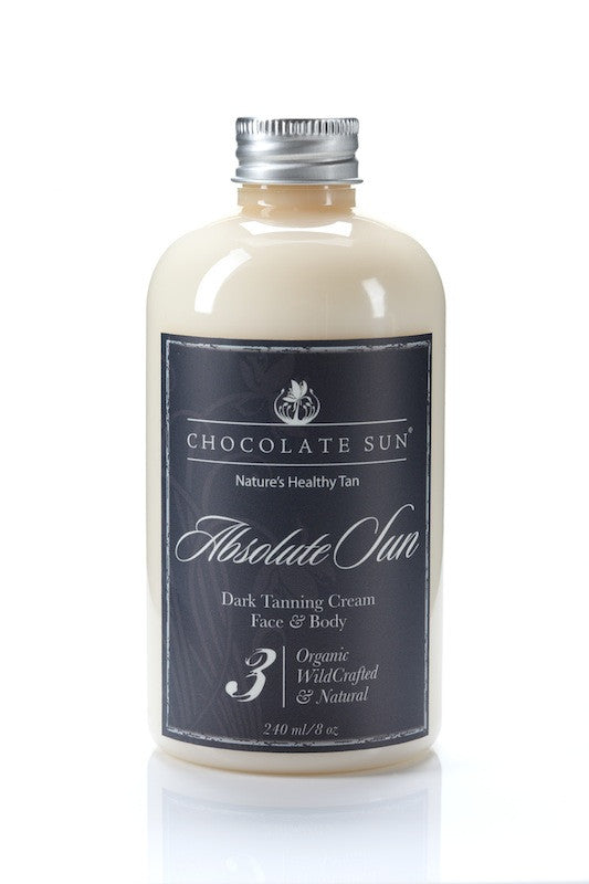Chocolate Sun - Absolute Sun - Sunless Tanner - Clementine Fields