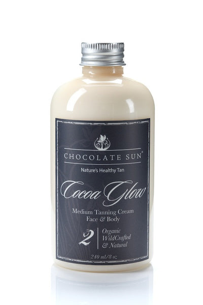 Chocolate Sun - Cocoa Glow - Sunless Tanner - Clementine Fields