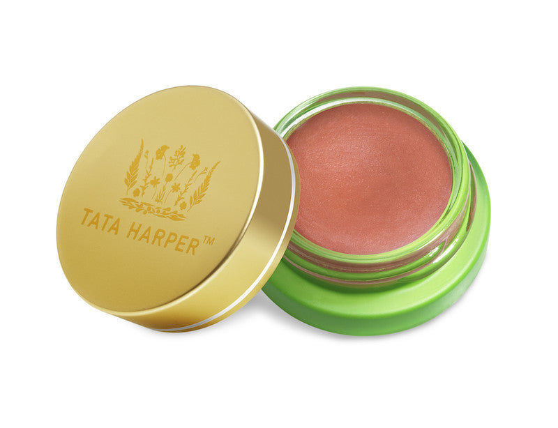 Tata Harper Volumizing Lip and Cheek Tint - Very Vivacious - Clementine Fields - 1
