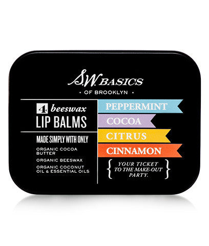 S.W. Basics Lip Balm - Flight - Clementine Fields