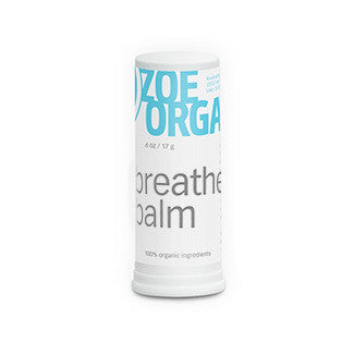 Zoe Organics - Breathe Balm - Clementine Fields