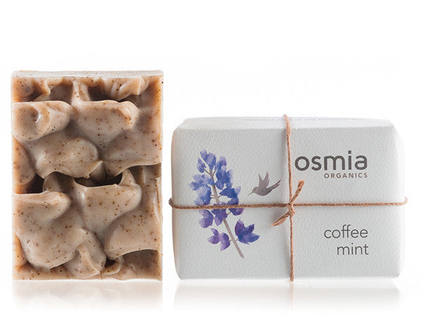 Osmia Organics - Coffee Mint Soap - Clementine Fields