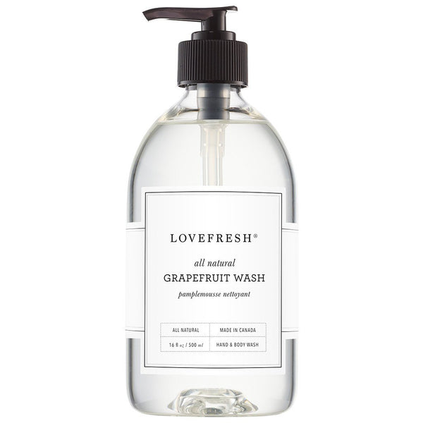 Lovefresh - Hand And Body Wash - Grapefruit