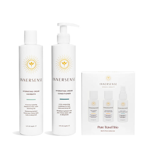 Hydrating Collection Duo + Pure Travel Trio Gift