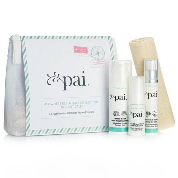 Pai - Anywhere Essentials Travel Kit Instant Calm Collection - Clementine Fields
