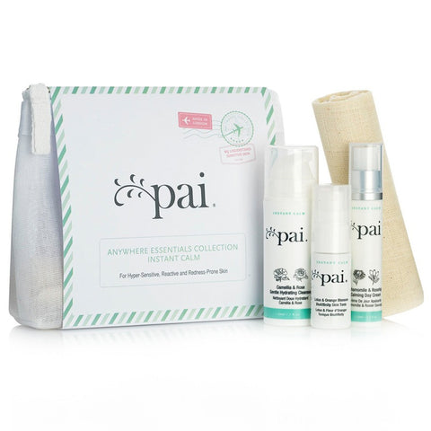 Pai - Anywhere Essentials Travel Kit Instant Calm Collection